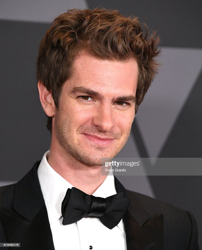 Andrew Garfield arrives at the Academy Of Motion Picture Arts And Sciences' 9th Annual Governors Awards at The Ray Dolby Ballroom at Hollywood & Highland Center on November 11, 2017 in Hollywood, California.