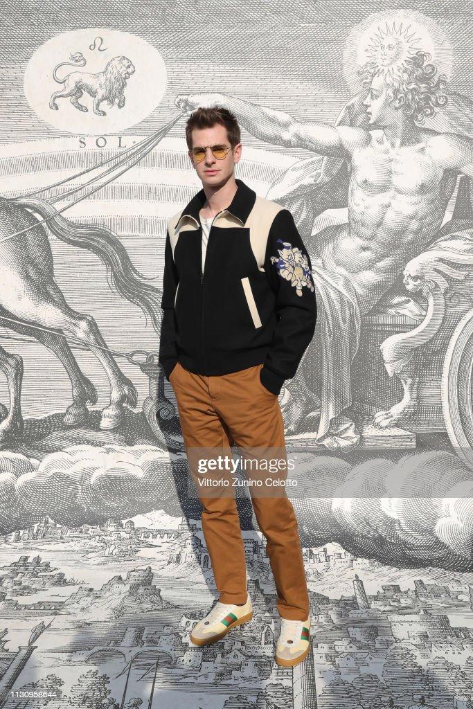 Gucci - Arrivals - Milan Fashion Week Autumn/Winter 2019/20 : News Photo