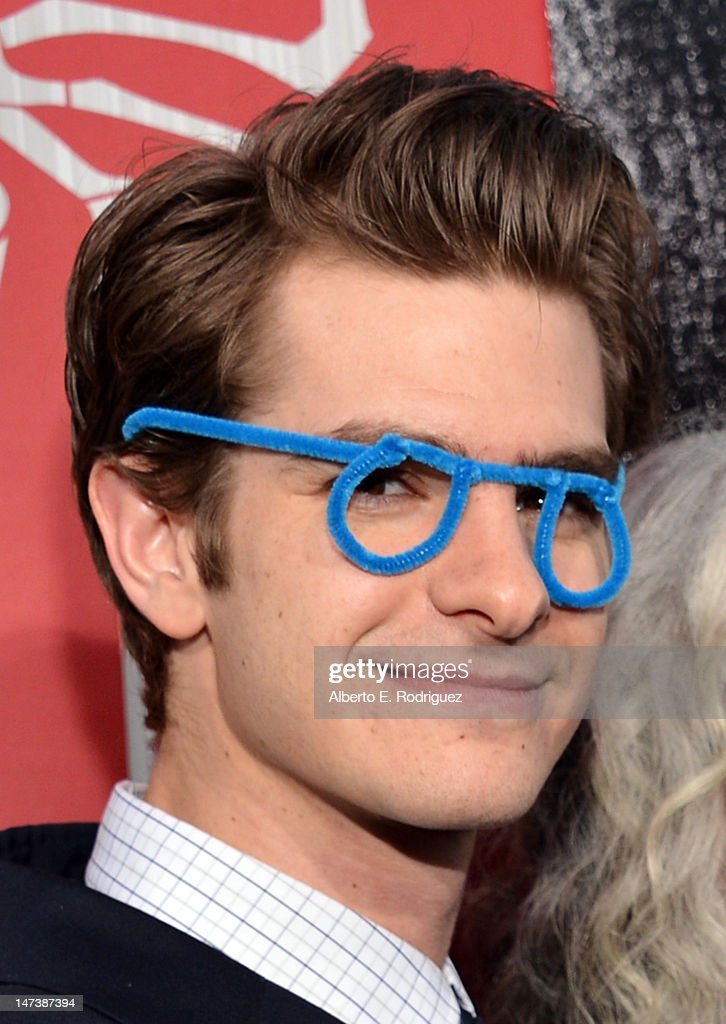 Andrew Garfield arrives at the premiere of Columbia Pictures' 'The Amazing Spider-Man' at the Regency Village Theatre on June 28, 2012 in Westwood, California.
