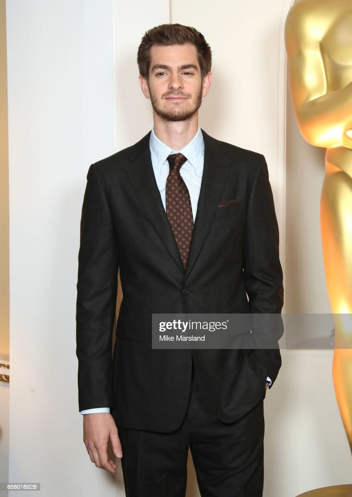 Andrew Garfield at the Academy of Motion Picture Arts and Sciences New Members Partyat Spencer House on October 5, 2017 in London, England.