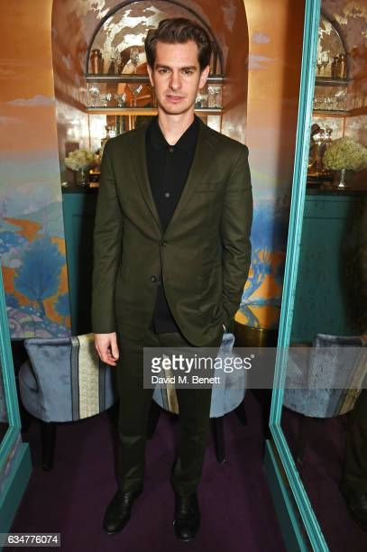 Andrew Garfield attends a pre BAFTA party hosted by Charles Finch and Chanel at Annabel's on February 11 2017 in London England