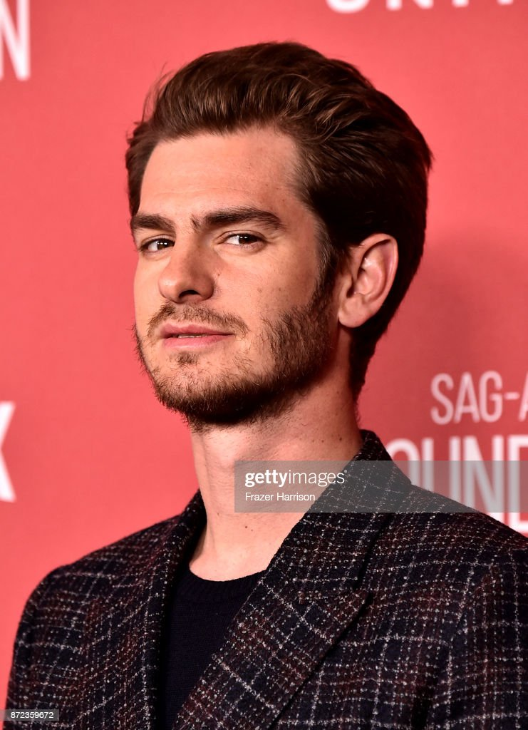 Andrew Garfield attends SAG-AFTRA Foundation Patron of the Artists Awards at the Wallis Annenberg Center for the Performing Arts 2017 on November 9, 2017 in Beverly Hills, California.
