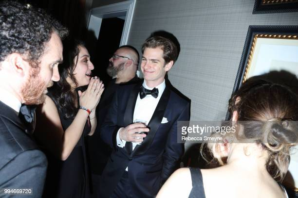 Andrew Garfield attends the 10th Annual OM Tony Awards party at the Carlyle on June 10 2018 in New York New York
