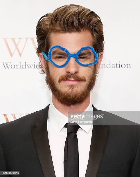 Andrew Garfield attends the 15th Anniversary Worldwide Orphans Benefit Gala at Cipriani Wall Street on November 13, 2012 in New York City.