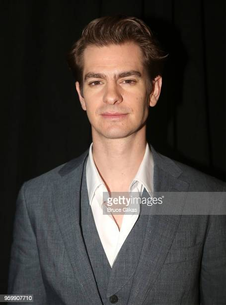 Andrew Garfield attends the 2018 Drama League Awards at Marriott Marquis Times Square on May 18 2018 in New York City