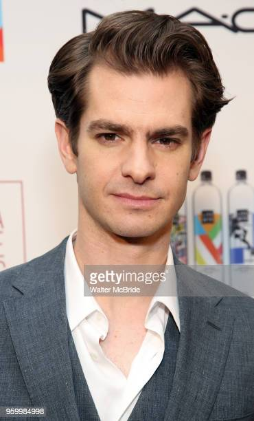 Andrew Garfield attends the 2018 Drama League Awards at the Marriot Marquis Times Square on May 18 2018 in New York City