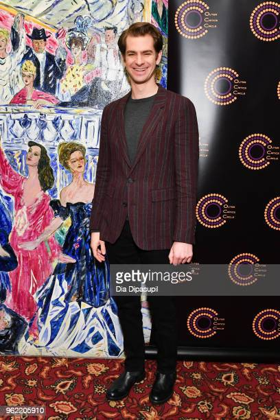 Andrew Garfield attends the 2018 Outer Critics Circle Theatre Awards at Sardi's on May 24 2018 in New York City