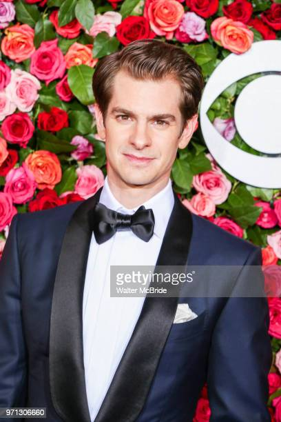 Andrew Garfield attends the 72nd Annual Tony Awards at Radio City Music Hall on June 10 2018 in New York City