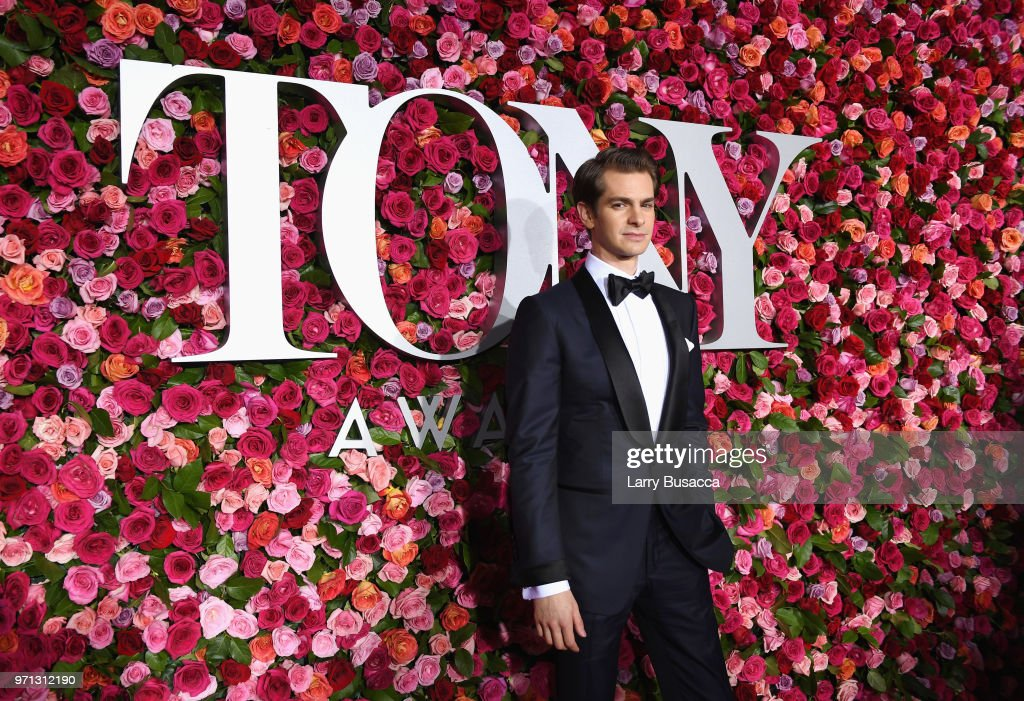 Andrew Garfield attends the 72nd Annual Tony Awards at Radio City Music Hall on June 10, 2018 in New York City.