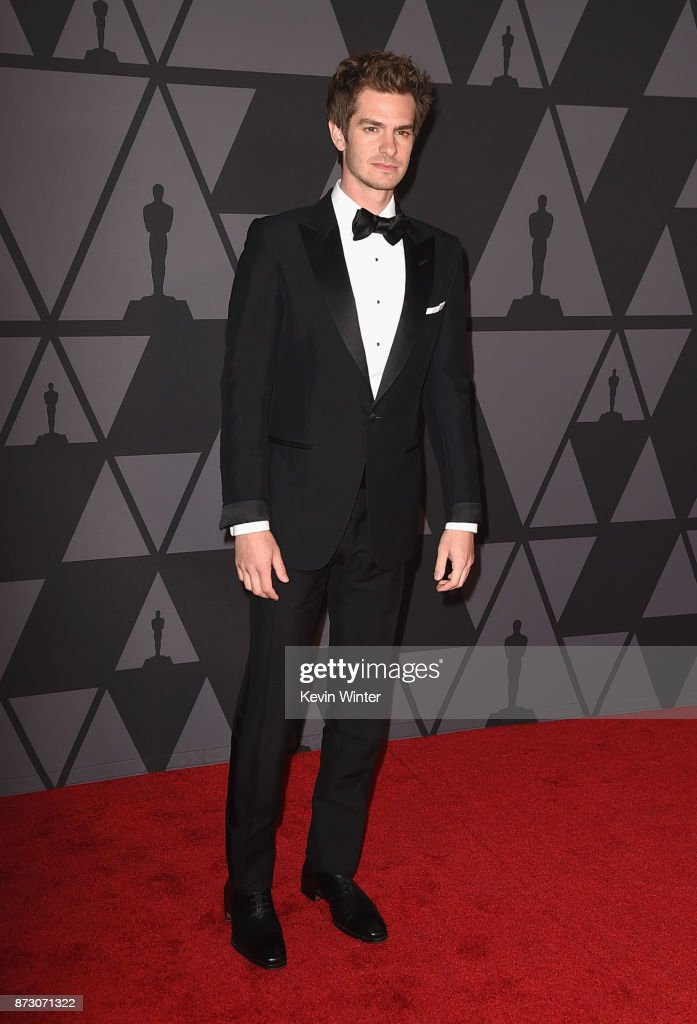 Andrew Garfield attends the Academy of Motion Picture Arts and Sciences' 9th Annual Governors Awards at The Ray Dolby Ballroom at Hollywood & Highland Center on November 11, 2017 in Hollywood, California.