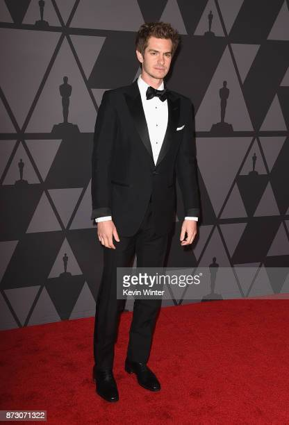 Andrew Garfield attends the Academy of Motion Picture Arts and Sciences' 9th Annual Governors Awards at The Ray Dolby Ballroom at Hollywood Highland...