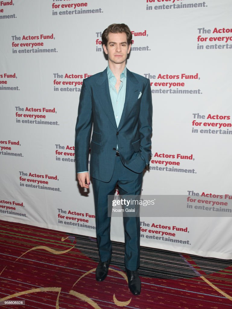 Andrew Garfield attends The Actors Fund 2018 Gala at Marriott Marquis Times Square on May 14, 2018 in New York City.