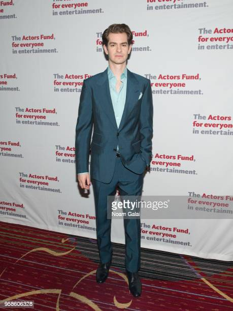 Andrew Garfield attends The Actors Fund 2018 Gala at Marriott Marquis Times Square on May 14 2018 in New York City