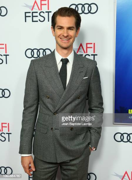Andrew Garfield attends the AFI FEST 2018 Presented By Audi 'Under The Silver Lake' Special Screening held at American Cinematheque's Egyptian...