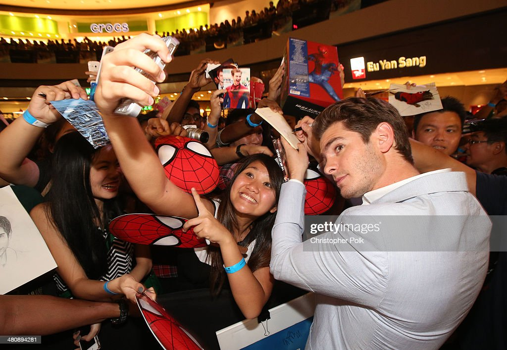 """""""The Amazing Spider-Man 2"""" Singapore Fan Event : News Photo"""
