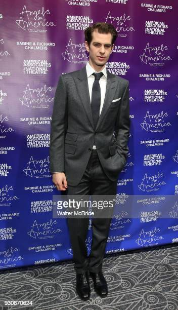 Andrew Garfield attends The American Associates of the National Theatre's Gala celebrating Tony Kushner's 'Angels in America' on March 11 2018 at the...