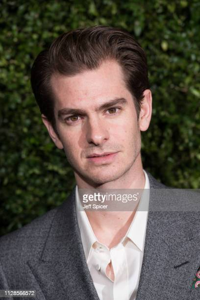 Andrew Garfield attends the Charles Finch Chanel preBAFTA's dinner at Loulou's on February 09 2019 in London England
