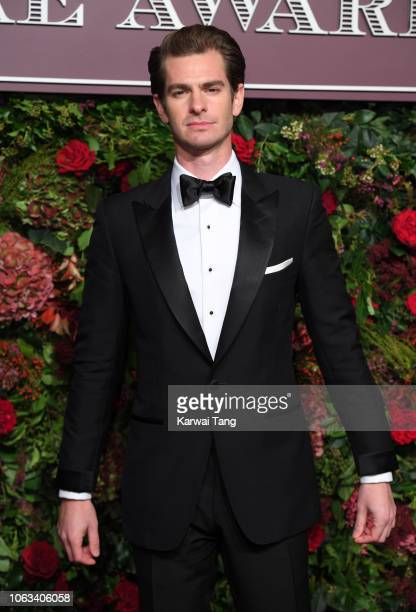 Andrew Garfield attends the Evening Standard Theatre Awards 2018 at Theatre Royal Drury Lane on November 18 2018 in London England
