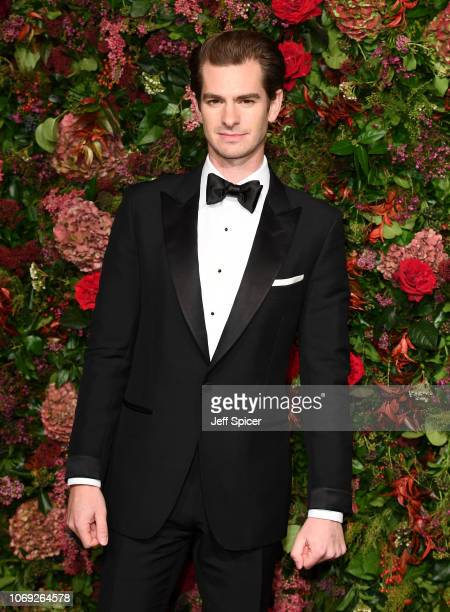 Andrew Garfield attends the Evening Standard Theatre Awards 2018 at the Theatre Royal on November 18 2018 in London England