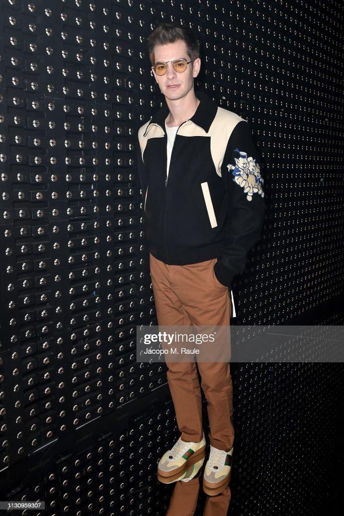 Gucci - Front Row - Milan Fashion Week Autumn/Winter 2019/20 : Nachrichtenfoto