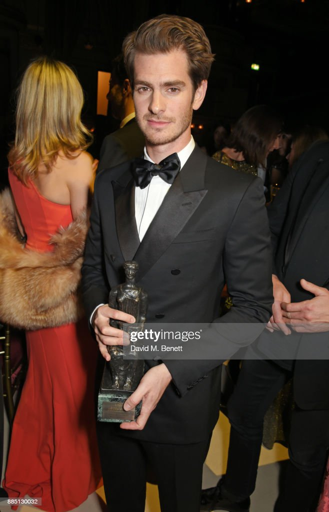 Andrew Garfield attends the London Evening Standard Theatre Awards 2017 after party at the Theatre Royal, Drury Lane, on December 3, 2017 in London, England.