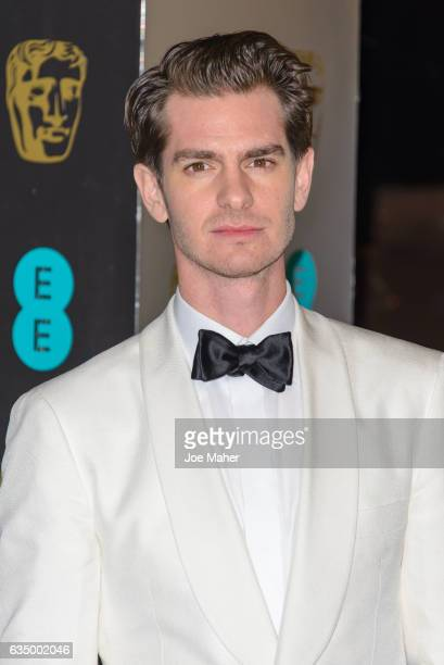 Andrew Garfield attends the official after party for the 70th EE British Academy Film Awards at The Grosvenor House Hotel on February 12 2017 in...