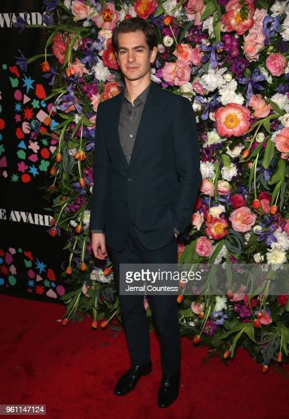 Andrew Garfield attends the The 63rd Annual Obie Awards at Terminal 5 on May 21 2018 in New York City
