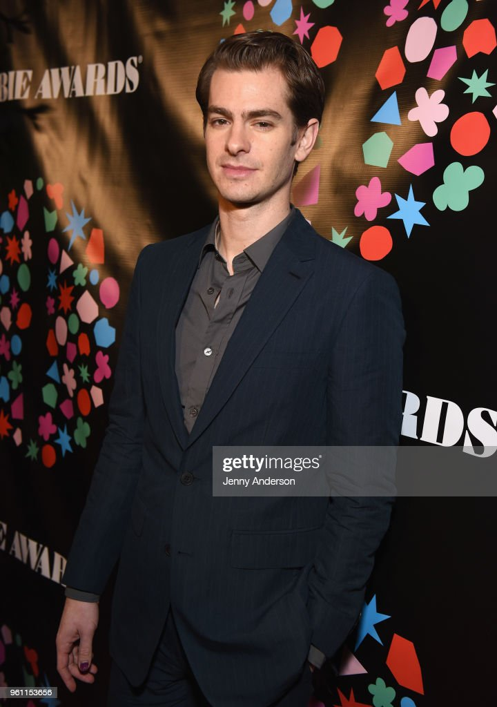 Andrew Garfield attends the The 63rd Annual Obie Awards at Terminal 5 on May 21, 2018 in New York City.
