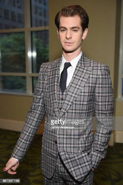 Andrew Garfield attends Tony Honors Cocktail Party Presenting The 2018 Tony Honors For Excellence In The Theatre And Honoring The 2018 Special Award...