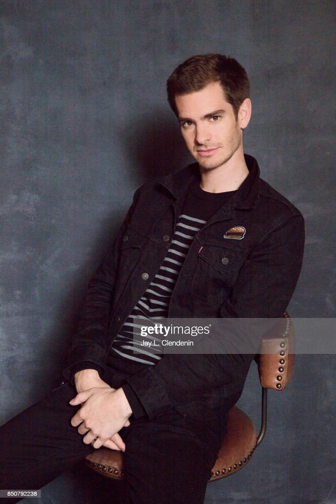 Andrew Garfield from the film, 'Breathe,' poses for a portrait at the 2017 Toronto International Film Festival for Los Angeles Times on September 12, 2017 in Toronto, Ontario.