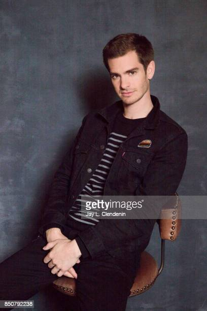 Andrew Garfield from the film Breathe poses for a portrait at the 2017 Toronto International Film Festival for Los Angeles Times on September 12 2017...