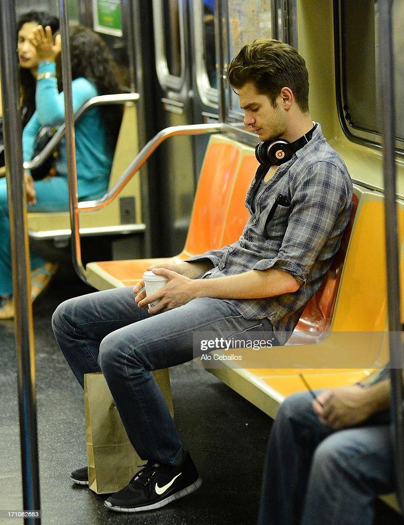 Celebrity Sightings In New York City - June 21, 2013 : News Photo