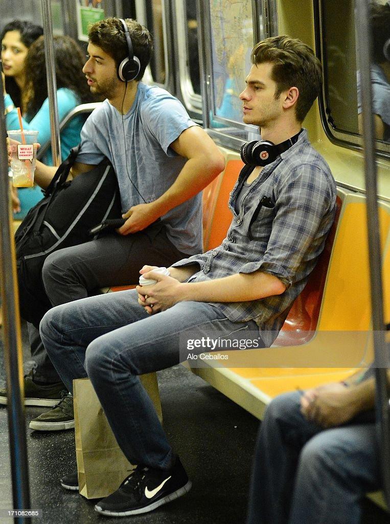 Celebrity Sightings In New York City - June 21, 2013 : Fotografía de noticias