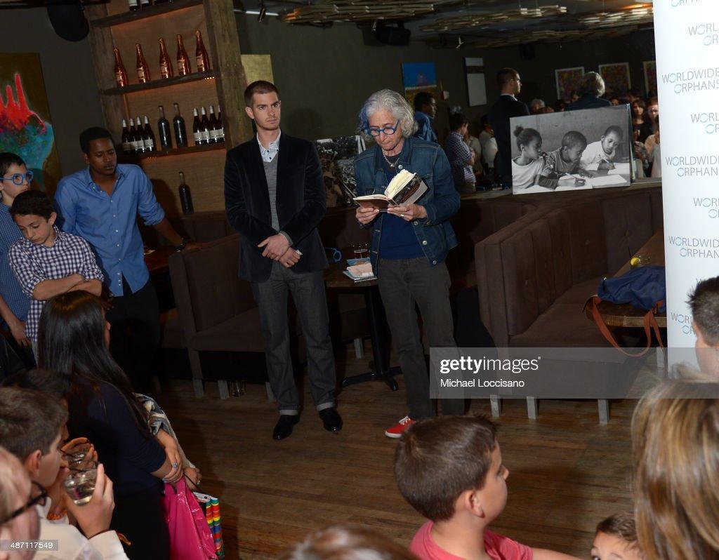 Andrew Garfield & WWO Host Salon Event In NYC