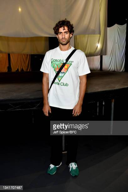 Andrew Georgiades attends the COS show at The Roundhouse during London Fashion Week September 2021 on September 21, 2021 in London, England.