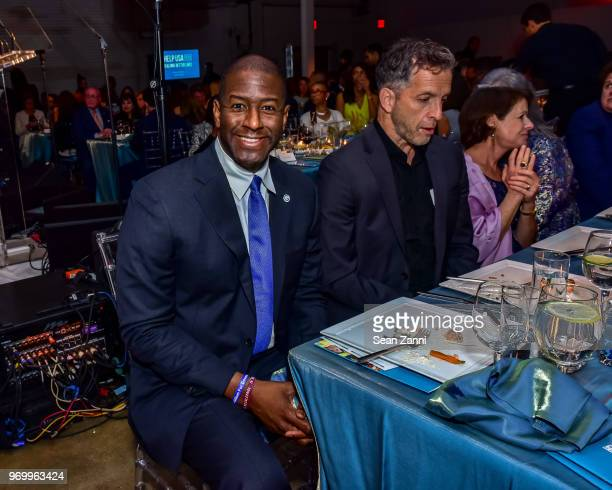 Andrew Gillum attends HELP USA Heroes Awards Gala at the Garage on June 4 2018 in New York City
