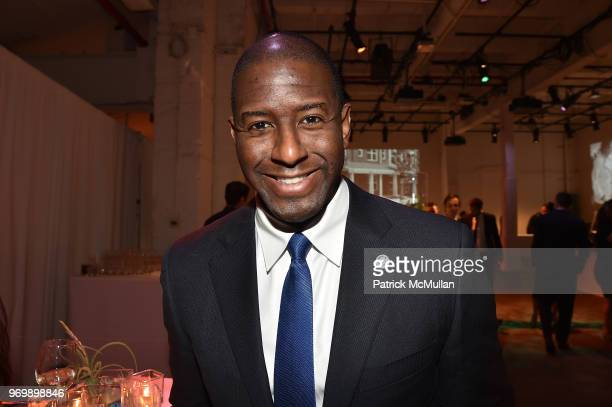 Andrew Gillum attends the HELP USA Heroes Awards Gala at the Garage on June 4 2018 in New York City