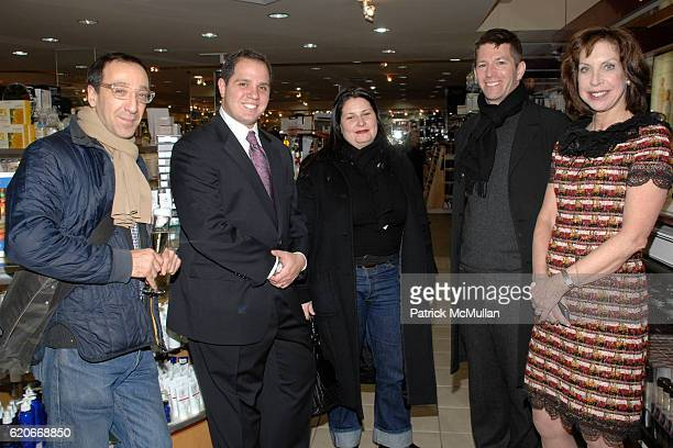 Andrew Goetz, Kelly Kovack, Rick Friedland, Matthew Malin and Cheryl Lefkovits attend CLYDE'S on Madison Celebrates the Launch of their 2008 Catalog...