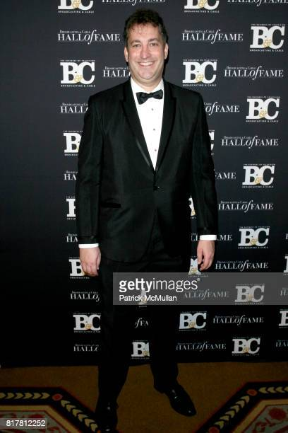 Andrew Goldstein attends 20th Annual BROADCASTING and CABLE HALL OF FAME Gala at Waldorf Astoria on October 27 2010 in New York City