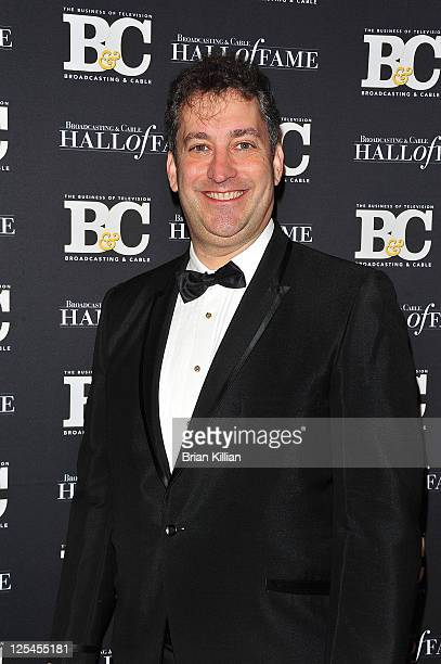 Andrew Goldstein Producer for The Today Show attends the 20th Annual Broadcasting and Cable Hall of Fame Awards at The Waldorf=Astoria on October 27...
