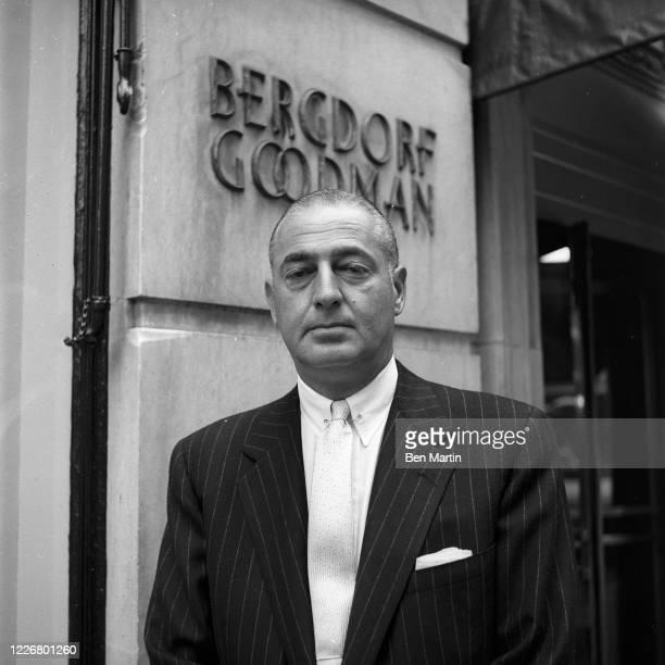 Andrew Goodman , head of Bergdorf Goodman, July 6, 1956.