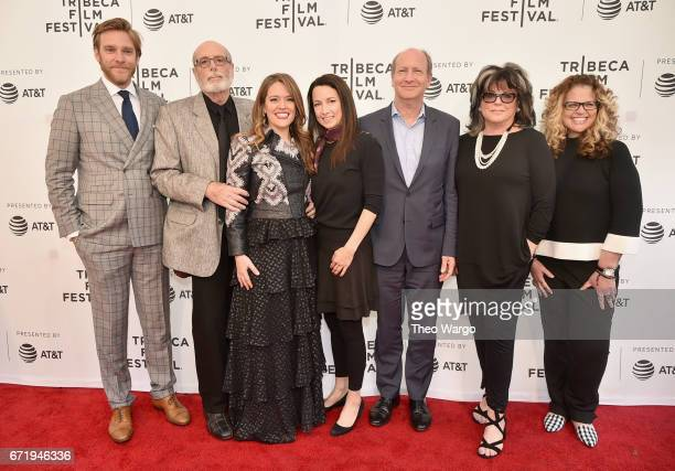 Andrew Haggiag Anthony Loder Alexandra Dean Lodi Loder Denise Loder and Wendy Colton attend 'Bombshell The Hedy Lamarr Story' Premiere during the...