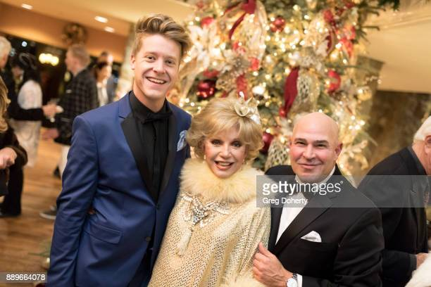 Andrew Hahn Actress Ruta Lee and Joe Santos attend The Thalians Hollywood for Mental Health Holiday Party 2017 at the Bel Air Country Club on...