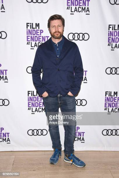 """Andrew Haigh attends the Film Independent at LACMA hosts a special screening of """"Lean On Pete"""" at Bing Theater At LACMA on March 8, 2018 in Los..."""