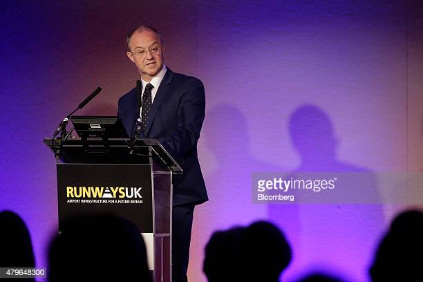Andrew Haines chief executive officer of the Civil Aviation Authority speaks during the Runways UK airport infrastructure conference in London UK on...