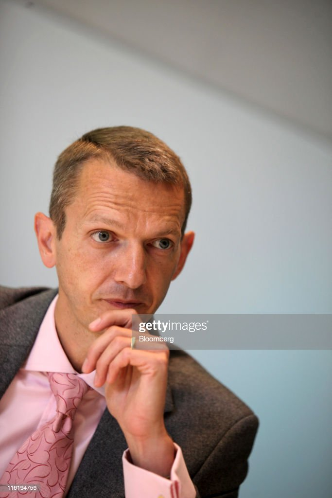 Andrew Haldane The Bank Of England Executive Director For Financial Stability : News Photo