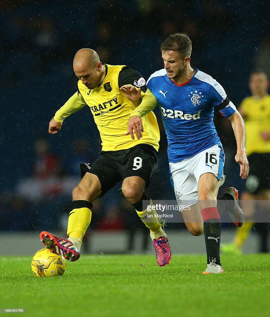 Rangers v Livingston - Petrofac Training Cup Quarter-Final : ニュース写真