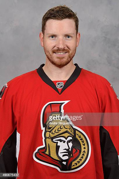 Andrew Hammond of the Ottawa Senators poses for his official headshot for the 20152016 season on September 17 2015 at Canadian Tire Centre in Ottawa...
