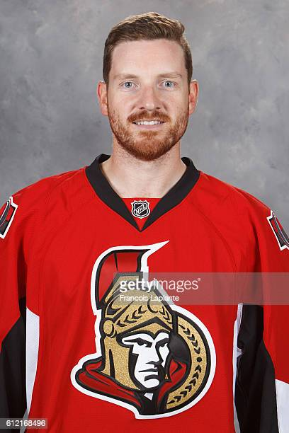 Andrew Hammond of the Ottawa Senators poses for his official headshot for the 20162017 season at Canadian Tire Centre on September 22 2016 in Ottawa...