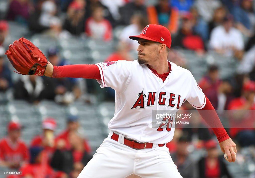 CA: Texas Rangers v Los Angeles Angels of Anaheim